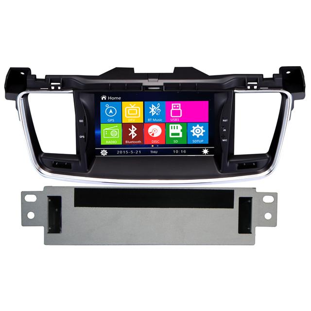 Novo 7 polegada Tela Sensível Ao Toque de Navegação GPS Do Carro Para Peugeot 508 Suporte 3G Canbus Bluetooth RDS Controle Da Roda Streeing Carro multimídia