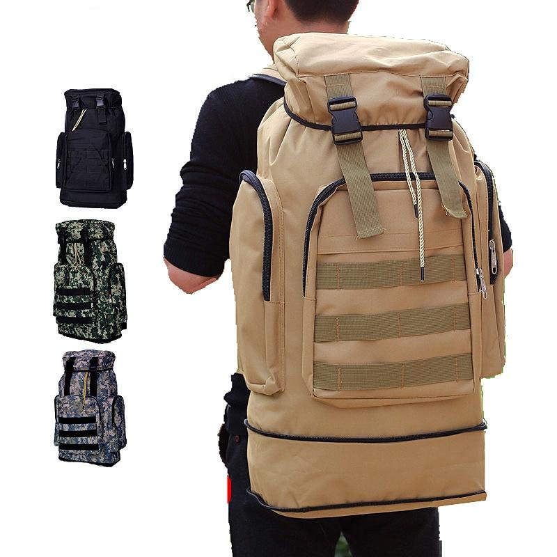 50-70L randonnée sacs à dos étanche professionnel sac à dos hommes/femmes en plein air Camping Tavel sac sec sac à dos tactique sac à dos