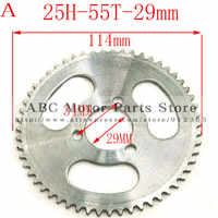 Electric Scooter Front Chain Sprocket 25H 11Teeth Electric Motor Sprocket  Electric Scooter Motor Pinion