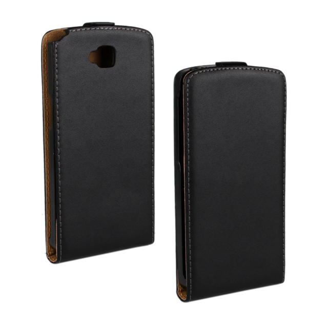 Luxury Genuine Real Leather Case Flip Cover Mobile Phone Accessories Bag Retro Vertical For LG G Pro Lite D686 PS