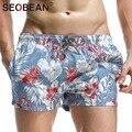 Seobean marca hombre casual pantalones de chándal basculador activewear boxeadores hombres playa pantalones cortos trunks mens del traje de baño trajes de baño de entrenamiento de carga