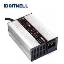 Professional Custom 60V 18S Li ion battery charger 75.6V 6A 18S lithium battery charger for 18S li-ion battery pack with CE ROHS недорого