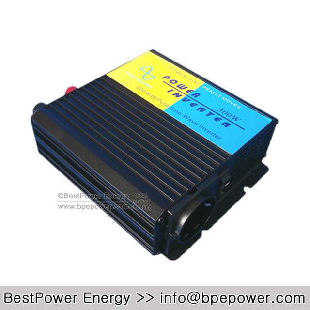HOT SALE!! Input DC12V/24V/48V to AC110V/220V 300W Professional Pure Sine Wave DC to AC Power Inverter, Solar Inverter