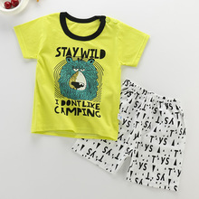 Summer Newborn Baby Boys Clothing Sets Infant Boy Clothes Cotton Kids Animal Costume Toddler