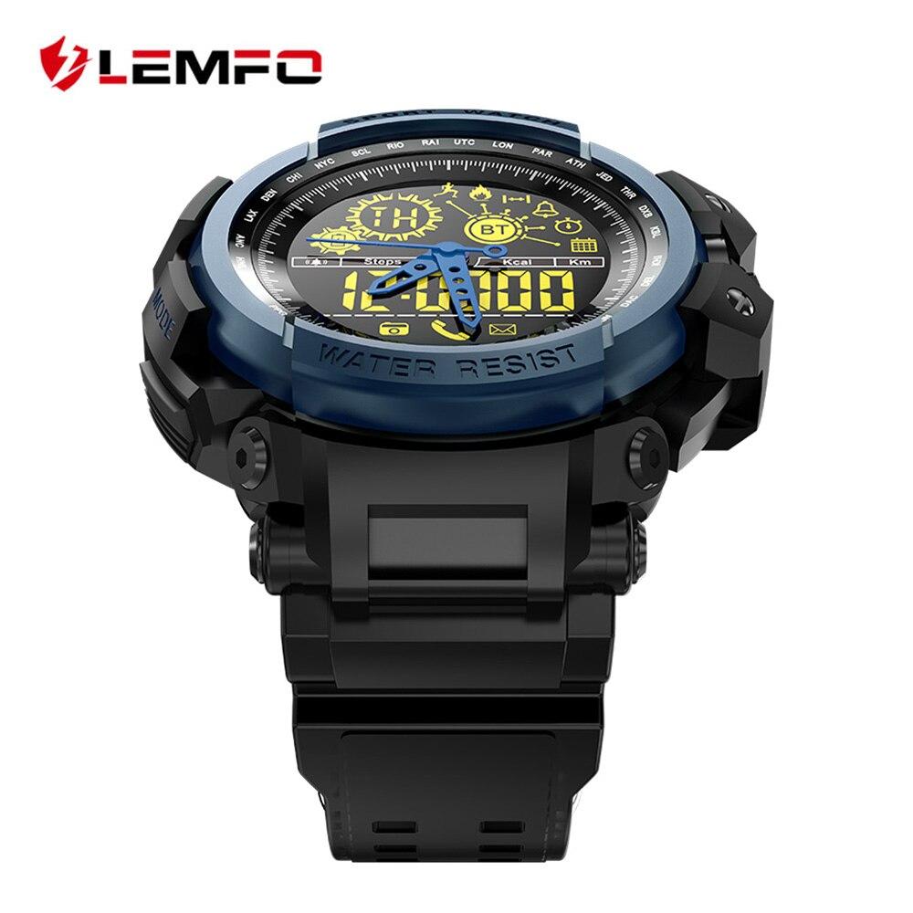 LEMFO LF21 Smart Watch Sport Ultra-long Standby Smartwatch Passometer Smart Watch Waterproof Professional Mechanical & Digital