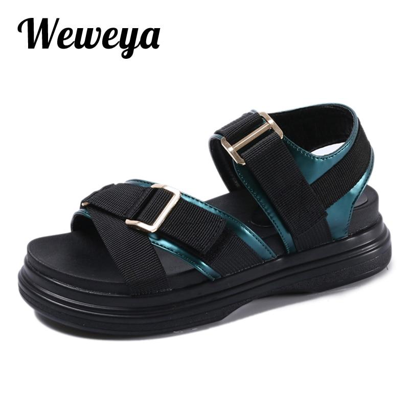 weweya fashion platform open toes sandals 2017 new wedges