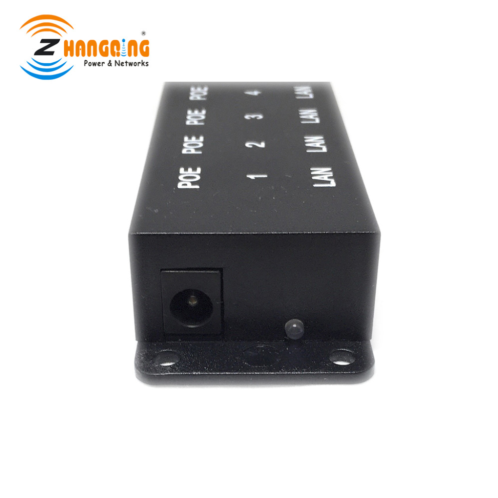 US $8 95 8% OFF Security 8 port passive POE injector Power over Ethernet  for IP Network Camera Ubiquiti and MikroTik-in CCTV Accessories from  Security