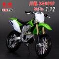 1:12 Сплава модель мотоцикла, высокая моделирования литья металла мотоцикл игрушки, Kawasaki KX450F, бесплатная доставка