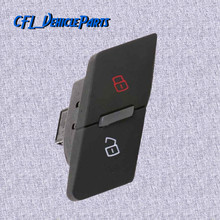 Left Central Door Locking Switch Button 4FD962107 For AUDI A6 S6 C6 A6 Allroad Quattro 2007 2008 2009 2010 2011 RS6 2008-2011 цена и фото