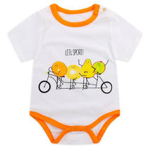 Summer Baby Clothes Pajamas Newborn Baby Rompers Cartoon Infant Short Sleeve Jumpsuits Boy Girl Outfits Unisex Kids Clothing(China)