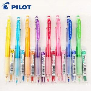 Image 1 - טייס HCR 197 Eno 0.7mm מכאני עיפרון עם 8 צבעים סט עופרת עפרונות 0.7 Mm עופרת עבור משרד & בית ספר אספקת מכתבים