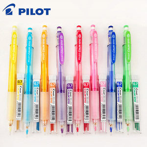 Image 1 - Pilot HCR 197 Eno 0.7mm Mechanical Pencil with 8 Colors Set Lead Pencils 0.7 Mm Lead for Office & School Supplies Stationery