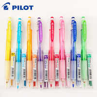 Pilot HCR-197 Eno 0.7mm Mechanical Pencil with 8 Colors Set Lead Pencils 0.7 Mm Lead for Office & School Supplies Stationery