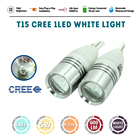 1pcs Auto LED T15 1COB Concave Lens Explosion Strobe Flashing 12V P21/5W Car Brake/Turn Signal Lamp Bulb