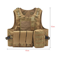 Camouflage Hunting Military Tactical Vest Armor Hunting Vest Outdoor Accessories