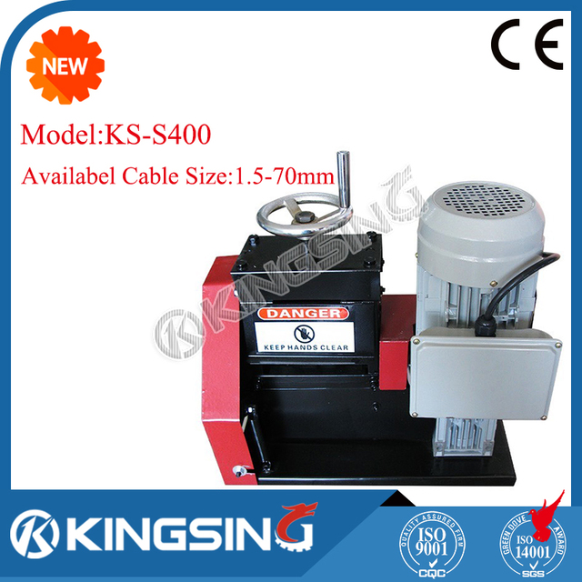 Table type scrap copper wire recycling machine ks s400 free shipping by dhl air express door to door in wiring harness from home improvement on table type scrap copper wire recycling machine ks s400 free shipping by dhl air greentooth Choice Image