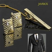 JAVRICK New Gift Men Metal Necktie Tie Bar Clasp Clip Cuffli