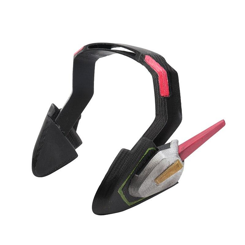 3D imprimé D. va casque accessoires pour Cosplay D. va casque Dva casque Dva écouteurs pour Costume Hana chanson accessoire