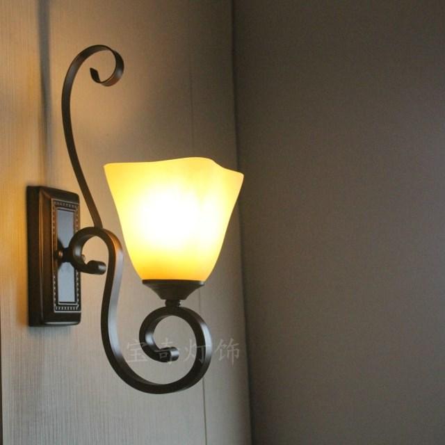 aliexpresscom comprar led lmparas de pared de interior junto dormitorio lmparas de pared lmpara de saln dormitorio de la lmpara de pared de hierro - Lamparas De Pared