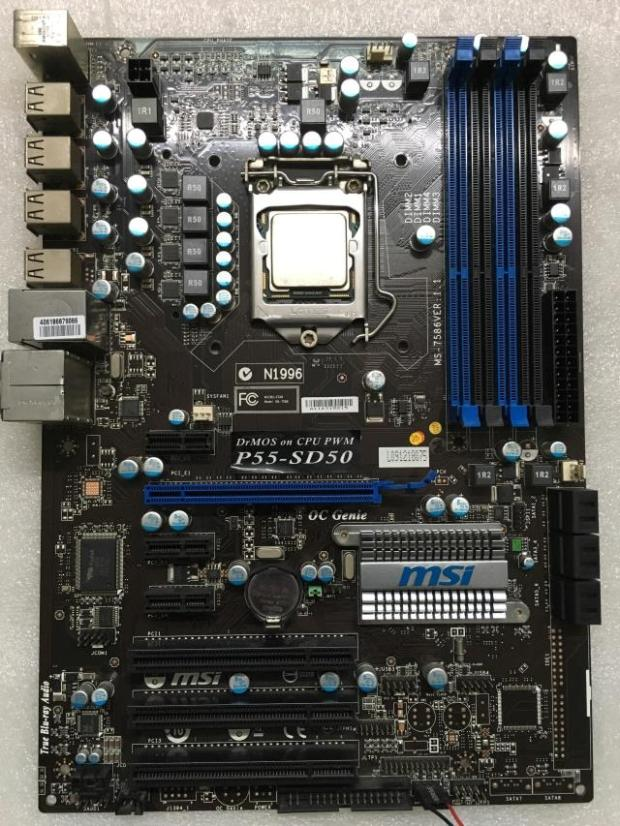 MSI P55-SD50 P55-CD53 LGA 1156 DDR3 boards USB2.0 16GB P55 desktop motherboard gigabyte ga p55 ud3r original used desktop motherboard p55 ud3r p55 lga 1156 i5 i7 ddr3 16g sata2 atx