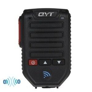 Image 1 - Baofeng BT 89 Handheld Wireless Bluetooth Microphone Speaker for QYT KT series Mobile Radio 10 Meters Receive Range Microphone