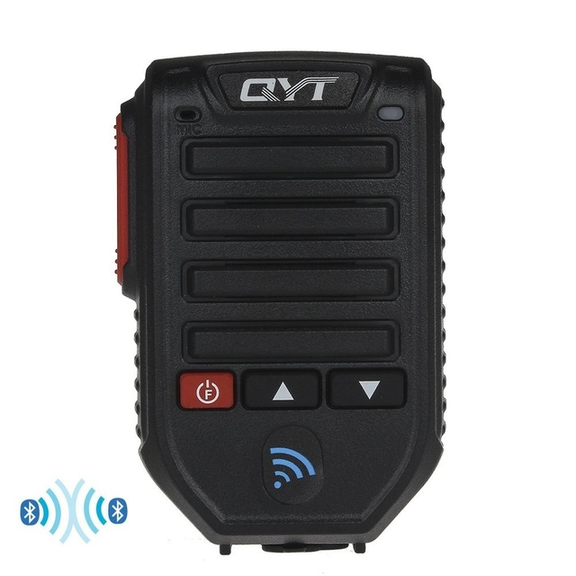 Baofeng BT 89 Handheld Wireless Bluetooth Microphone Speaker for QYT KT series Mobile Radio 10 Meters Receive Range Microphone