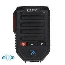 Baofeng BT 89 يده سماعة لاسلكية تعمل بالبلوتوث ميكروفون المتكلم ل QYT KT سلسلة راديو المحمول 10 متر تلقي المدى ميكروفون