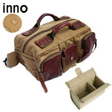 Photography Waist Packs with Paitition Padded Canvas DSLR Digital Photo Camera Waist Packs Waist Bag for Outdoor Travel