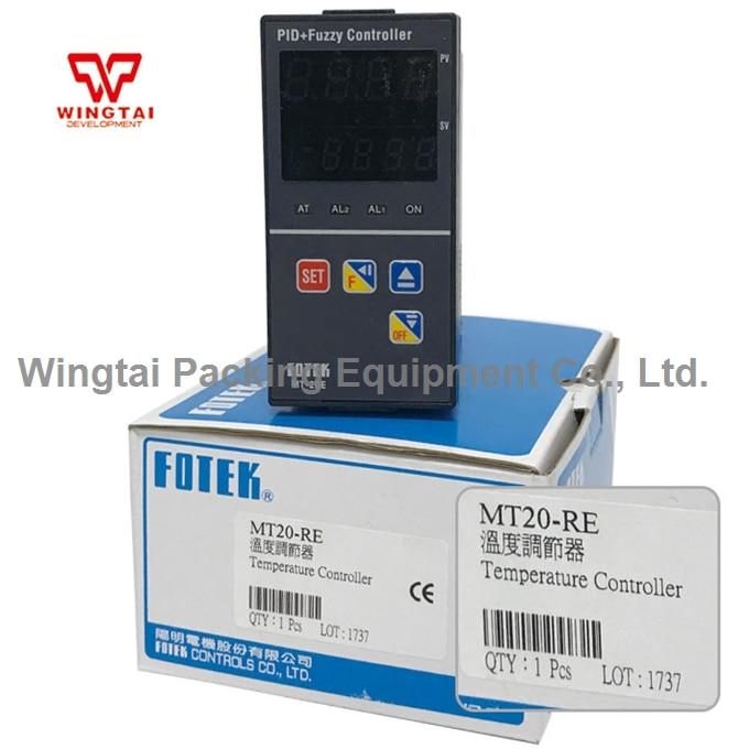 TAIWAN FOTEK PID+Fuzzy Digital Electrical Temperature Controller MT20-RE Programable Temperature Controller made in taiwan fotek tc72 dd r3 digital temperature controllers