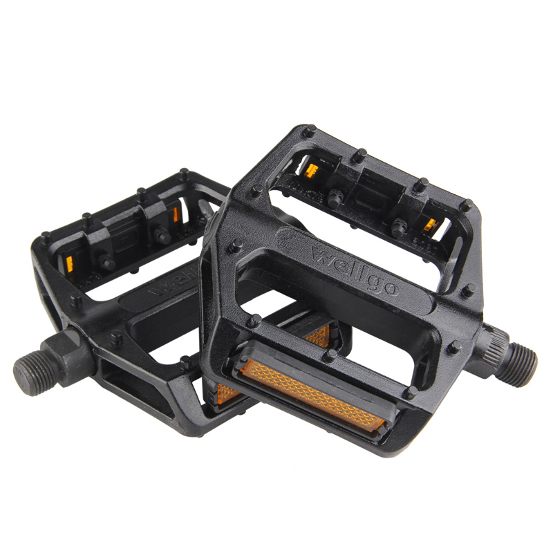 1 Pair Big Foot Road Bicycle Bike Alloy Platform Pedals MT Bike Pedal 9//16/""