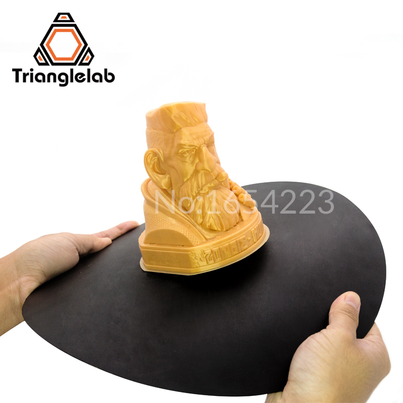 trianglelab TL-FlexPlate System 3D Printer Accessories Print Bed Tape Print Sticker Build Plate Tape FlexPlate System dia 400mm 900w 120v 3m ntc 100k round tank silicone heater huge 3d printer build plate heated bed electric heating plate element