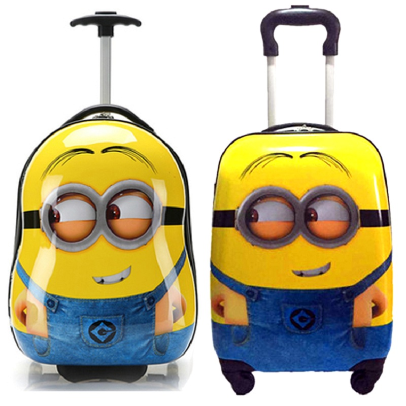 Popular Children Minion Suitcase-Buy Cheap Children Minion ...