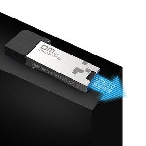 Image 3 - DM CR008 Lightning Micro SD/TF OTG Đọc Thẻ Nhớ USB 3.0 Mini CardReader dành cho iPhone 6/7 /8 Plus iPod iPad đầu Đọc Thẻ OTG