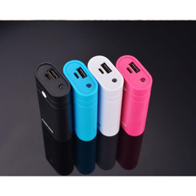 USB Caricabatteria Supporto Accumulatori e caricabatterie di riserva Scatola Borsette Caso Kit FAI DA TE 2x18650 Mini Con La Torcia Elettrica per il iPhone Xiaomi Huawei