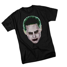 Graphic Tees Crew Neck Men Joker Head -- Suicide Squad Short-Sleeve Gift Shirts