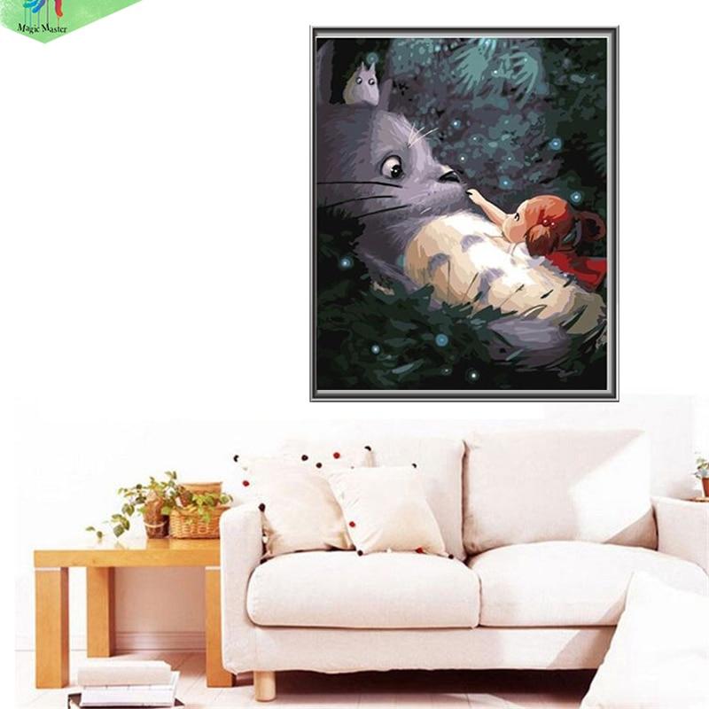 Tienda Online Handmade frameless cuadro pintura por números DIY ...