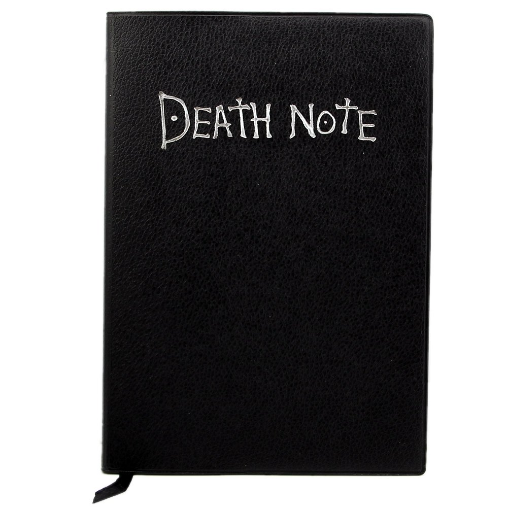 Fashion Anime Theme Death Note Cosplay Notebook New School Large Writing Journal 20.5cm*14.5cm anime death note male black short curly cosplay wig show