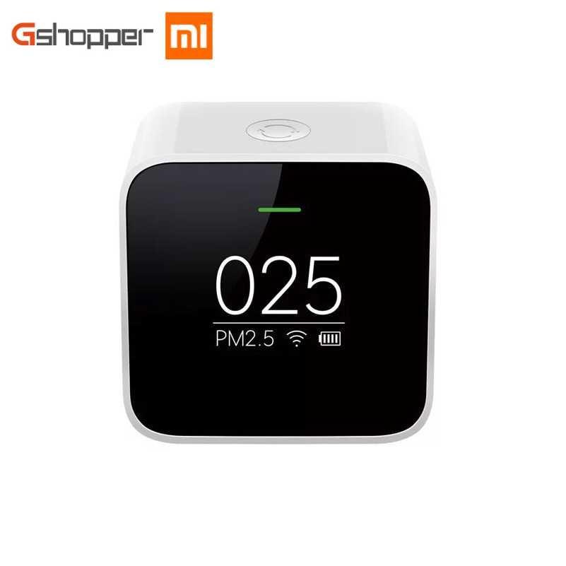 Original Xiaomi Mijia PM2.5 Calidad del Aire del Detector Tester pantalla OLED purificador de aire de alta precisión láser Sensor inteligente de Control APP