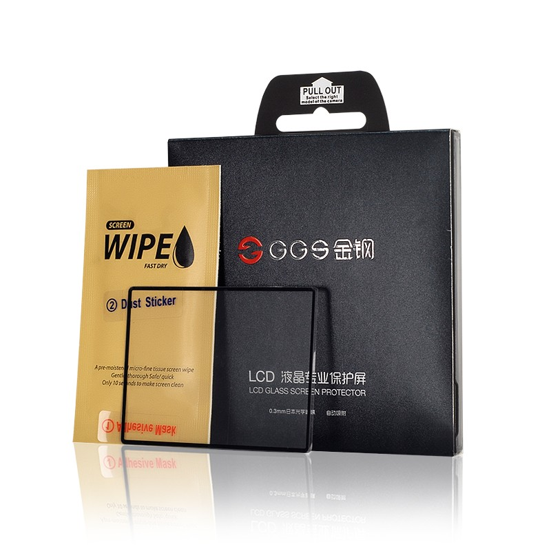 GGS 4th Generation for Nikon D500 Electrostatic Adsorption Professional LCD Screen Protector Glass
