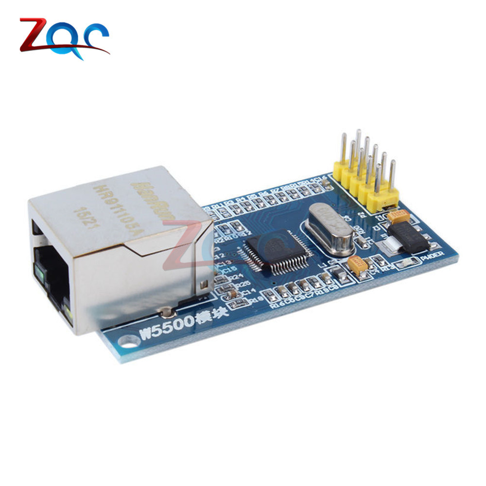 W5500 Ethernet network module hardware TCP / IP 51 / STM32 SPI Interface  microcontroller program over W5100 For Arduino I/O MCU