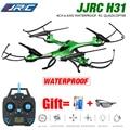 JJRC H31 À Prova D' Água Resistência À Queda Zangão Headless 6 Eixo giroscópio 2.4 GHz 4CH Quadcopter Um Retorno Chave 360 Graus Capotamento RTF