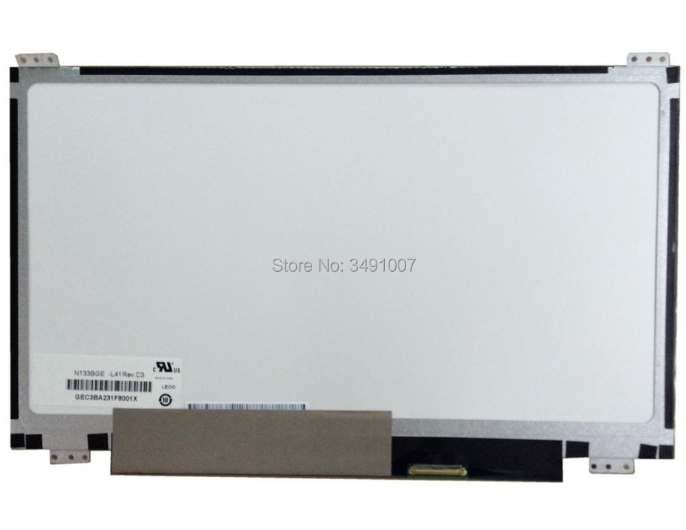 "N133BGE L41 Rev.C3 New 13.3"" Laptop LED LCD Screen For ASUS S300CA Slim Panel A+
