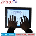 """12.1"""" 4:3 1024*768 VGA hdmi dc12v metal casing wall mount Waterproof  10 points multi capacitive  touchscreen industrial monitor"""