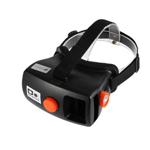 Head-Mounted for Google Cardboard Version 3D VR Glasses Virtual Reality DIY 3D VR Video Movie Game Glasses  for Smart Phones