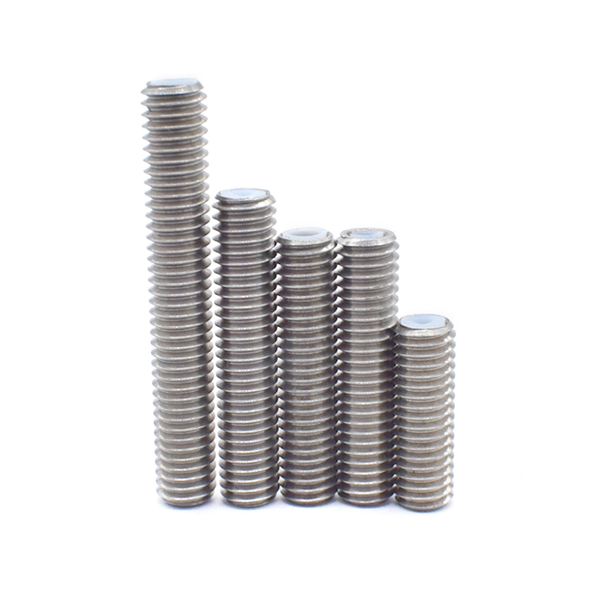 M6x30//40//50mm Nozzle Throat /& Teflon PTFE for MK8 extruder print 5 materials