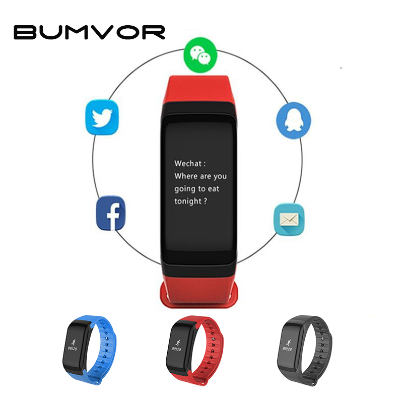 BUMVOR Couple watch F1 3 Colors Top gift water proof smartwatch bluetooth watch connect with phone