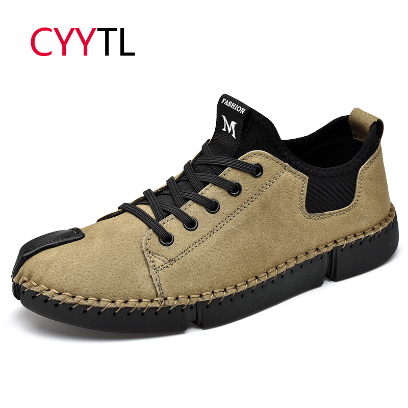CYYTL Fashion Men Outdoor Sneakers Comfortable Shoes Casual Lace-Up Male Walking Lightweight Tenis Masculino Zapatos De Hombre