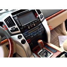 Per Toyota LC Land Cruiser 200 2008 2009 2010 2011 2012 2013 2014 2015 Interni Moulding Trim Chrome Car Styling accessori