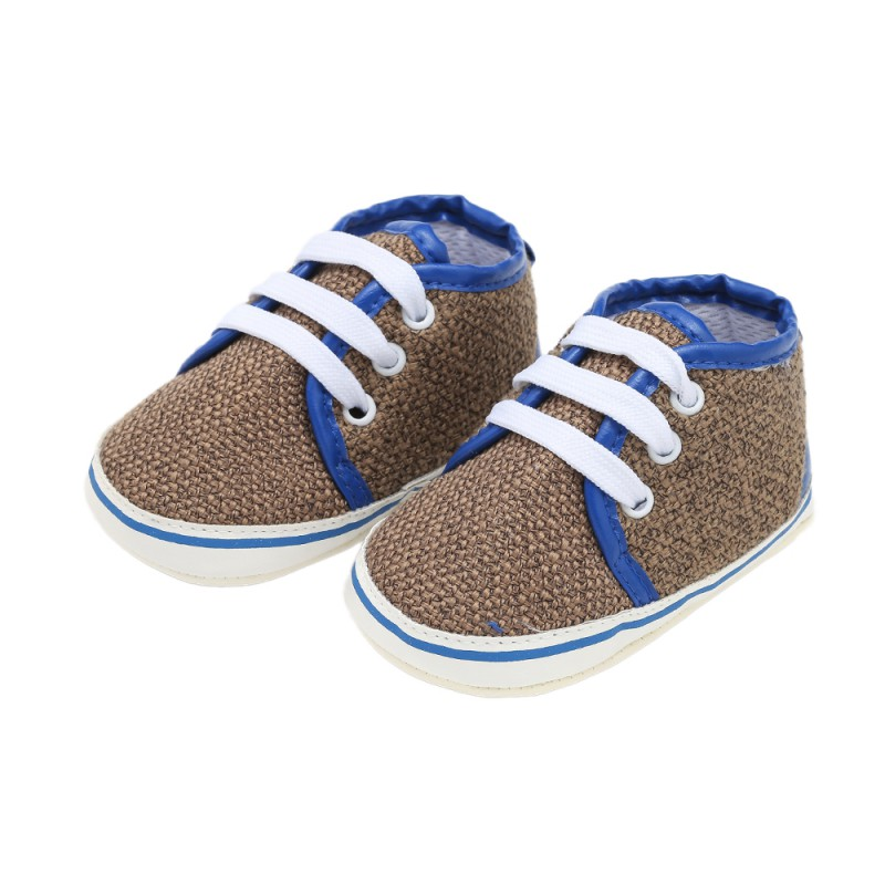 Shoes First-Walkers Soft-Bottom Infant Baby-Boy-Girl Autumn Spring Lace-Up