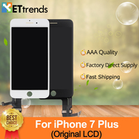 1 piece 100% Original LCD Refurbished A+ Display For iPhone 7 Plus LCD Screen Touch Digitizer Assembly 100% Tested DHL Free Ship